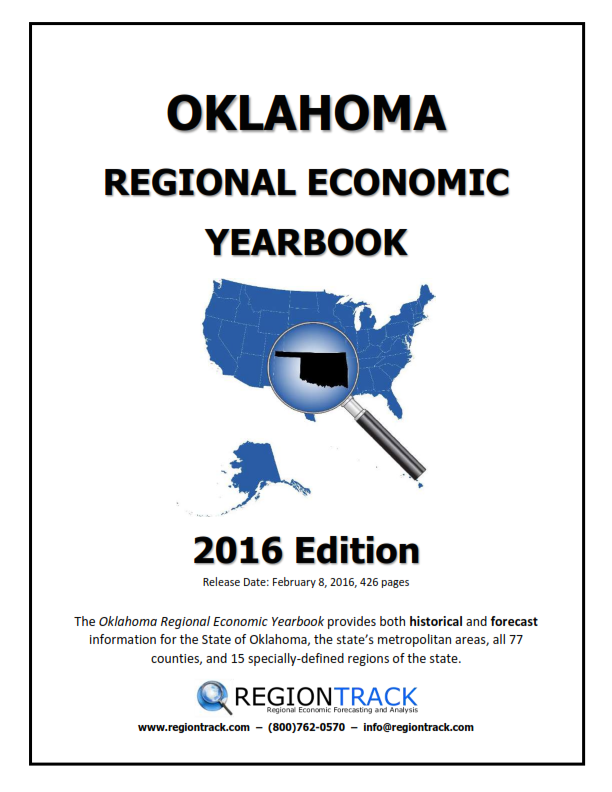 2016 OKLAHOMA ECONOMIC YEARBOOK
